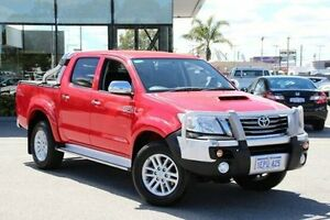 2014 Toyota Hilux Red Automatic Utility St James Victoria Park Area Preview