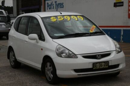 2004 Honda Jazz VTi White 7 Speed CVT Auto Sequential Hatchback Fyshwick South Canberra Preview