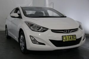 2014 Hyundai Elantra MD3 Active Pearl White 6 Speed Sports Automatic Sedan