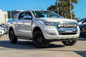 2016 Ford Ranger PX MkII XLT Double Cab 4x2 Hi-Rider White 6 Speed Sports Automatic Utility Kirrawee Sutherland Area Preview