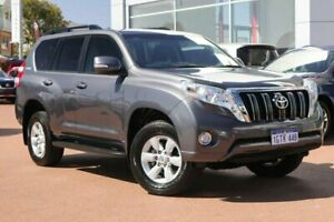 2017 Toyota Landcruiser Prado GDJ150R GXL Grey 6 Speed Sports Automatic Wagon Clarkson Wanneroo Area Preview