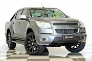 2013 Holden Colorado RG MY14 LTZ (4x2) Grey 6 Speed Automatic Crew Cab Pickup Burleigh Heads Gold Coast South Preview
