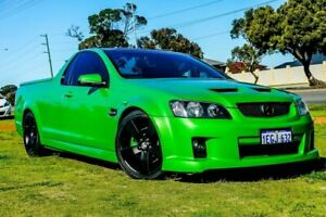 2009 Holden Ute VE MY10 SS Green 6 Speed Manual Utility Wangara Wanneroo Area Preview