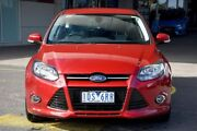 2014 Ford Focus LW MKII MY14 Sport PwrShift Candy Red 6 Speed Sports Automatic Dual Clutch Hatchback Mornington Mornington Peninsula Preview