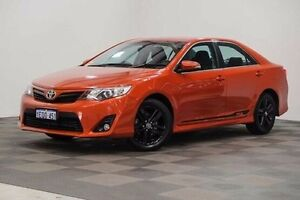 2014 Toyota Camry ASV50R RZ Orange 6 Speed Sports Automatic Sedan Edgewater Joondalup Area Preview