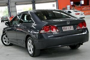 2008 Honda Civic MY07 VTi-L Grey 5 Speed Automatic Sedan Coopers Plains Brisbane South West Preview
