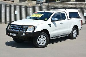 2012 Ford Ranger PX XLT Super Cab White 6 Speed Sports Automatic Utility New Lambton Newcastle Area Preview