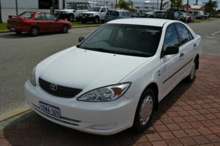 2004 Toyota Camry Altise White 4 Speed Automatic Sedan
