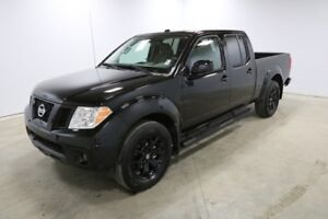 2018 Nissan Frontier Black 18 inch Alloy Wheels, Black Step Rail