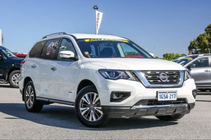2018 Nissan Pathfinder R52 Series II MY17 ST X-tronic 2WD Ivory Pearl 1 Speed Constant Variable Cannington Canning Area Preview