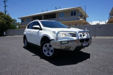 2015 Toyota RAV4 ALA49R MY14 Upgrade GX (4x4) Glacier White 6 Speed Automatic Wagon Dalby Dalby Area Preview