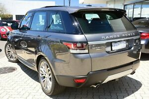 2014 Land Rover Range Rover Sport L494 MY14.5 V6SC CommandShift HSE Grey 8 Speed Sports Automatic Victoria Park Victoria Park Area Preview