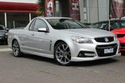 2014 Holden Ute  Silver Manual Utility Watsonia North Banyule Area Preview