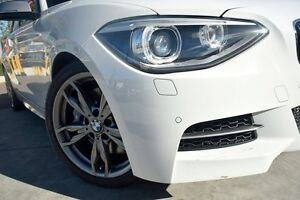 2013 BMW M135i F20 MY0713 White 8 Speed Sports Automatic Hatchback Waitara Hornsby Area Preview