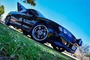 2004 Holden Crewman VY II SS Black 6 Speed Manual Crew Cab Utility Rockingham Rockingham Area Preview