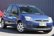 2007 Ford Fiesta WQ LX Blue Ocean 5 Speed Manual Hatchback Enfield Port Adelaide Area Preview