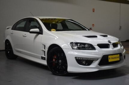 2011 Holden Special Vehicles Clubsport E Series 3 MY12 R8 Heron White 6 Speed Sports Automatic Sedan