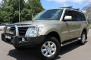 2014 Mitsubishi Pajero NW MY14 GLX-R Gold 5 Speed Sports Automatic Wagon East Maitland Maitland Area Preview