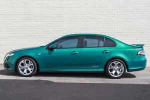 2012 Ford Falcon FG MK2 XR6 Green 6 Speed Auto Seq Sportshift Sedan