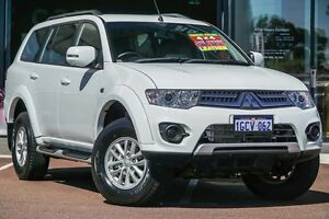 2015 Mitsubishi Challenger PC (KH) MY14 White 5 Speed Sports Automatic Wagon Wilson Canning Area Preview