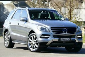 2012 Mercedes-Benz M-Class W166 ML350 BlueEFFICIENCY 7G-Tronic + Silver 7 Speed Sports Automatic Granville Parramatta Area Preview