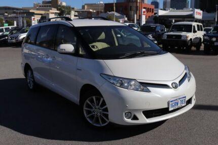 2014 Toyota Tarago GSR50R MY13 GLX V6 Crystal Pearl 6 Speed Automatic Wagon Northbridge Perth City Area Preview
