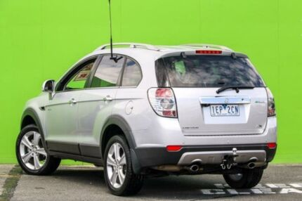 2012 Holden Captiva CG Series II 7 AWD LX Silver 6 Speed Sports Automatic Wagon Ringwood East Maroondah Area Preview