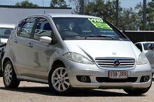 2005 Mercedes-Benz A200 W169 Elegance Silver Metallic 7 Speed Constant Variable Hatchback Toowong Brisbane North West Preview