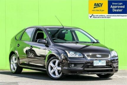 2007 Ford Focus LS Zetec Black 4 Speed Sports Automatic Hatchback Ringwood East Maroondah Area Preview