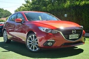 2014 Mazda 3 BM5436 SP25 SKYACTIV-MT GT Red 6 Speed Manual Hatchback Paradise Campbelltown Area Preview