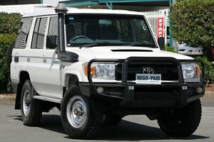 2011 Toyota Landcruiser VDJ76R MY10 Workmate French Vanilla 5 Speed Manual Wagon Acacia Ridge Brisbane South West Preview