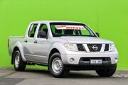 2011 Nissan Navara D40 MY11 RX Silver 5 Speed Automatic Utility Ringwood East Maroondah Area Preview