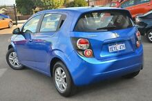 2013 Holden Barina TM MY13 CD Blue 5 Speed Manual Hatchback Morley Bayswater Area Preview