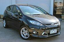 2011 Ford Fiesta WT Zetec Black 5 Speed Manual Hatchback Cranbourne Casey Area Preview
