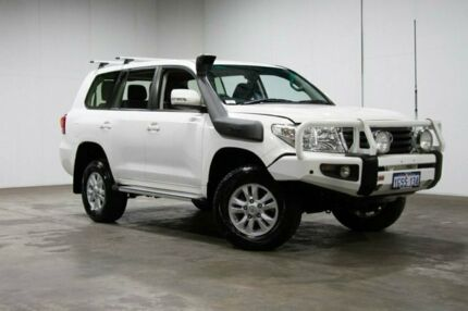 2012 Toyota Landcruiser VDJ200R MY10 GXL White 6 Speed Sports Automatic Wagon Welshpool Canning Area Preview