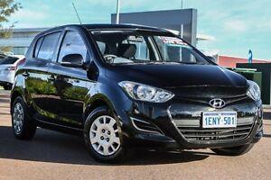 2014 Hyundai i20 PB MY14 Active Black 4 Speed Automatic Hatchback East Rockingham Rockingham Area Preview