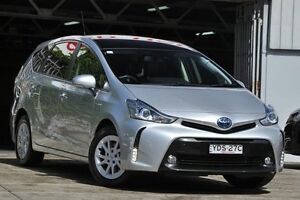 2016 Toyota Prius v ZVW40R Upgrade I-Tech Silver 1 Speed Continuous Variable Wagon Mosman Mosman Area Preview