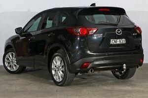 2013 Mazda CX-5 KE1021 MY13 Akera SKYACTIV-Drive AWD Black 6 Speed Sports Automatic Wagon Alexandria Inner Sydney Preview