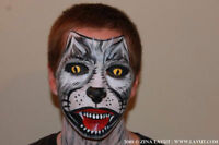 Halloween makeup face painting Special FX