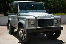 2011 Land Rover Defender 90 12MY Silver 6 Speed Manual Wagon Meadowbank Ryde Area Preview