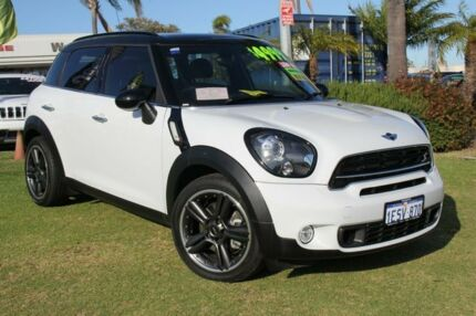2015 Mini Countryman R60 MY15 Cooper S White 6 Speed Auto Seq Sportshift Wagon Wangara Wanneroo Area Preview