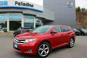2014 Toyota Venza LOW KM! - BLUETOOTH + FOG LIGHTS + SIRIUS SATE