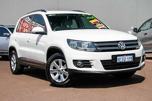 2013 Volkswagen Tiguan 5N MY13.5 103TDI DSG 4MOTION Pacific White 7 Speed Cannington Canning Area Preview