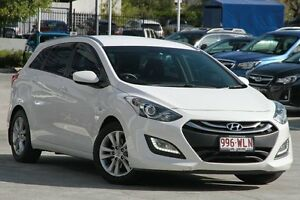 2013 Hyundai i30 GD Active Tourer White 6 Speed Sports Automatic Wagon Toowong Brisbane North West Preview