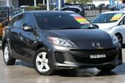 2013 Mazda 3 BL10F2 MY13 Neo Grey 6 Speed Manual Hatchback Penrith Penrith Area Preview