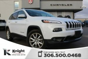 2017 Jeep Cherokee Limited - Heated/Cooled Leather Seats - Remot