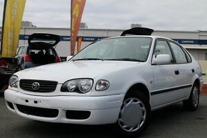 2001 Toyota Corolla AE112R Ascent White 4 Speed Automatic Liftback Greenslopes Brisbane South West Preview