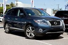 2013 Nissan Pathfinder R52 MY14 Ti X-tronic 4WD Blue 1 Speed Constant Variable Wagon Ringwood East Maroondah Area Preview
