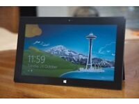 Microsoft RT Surface tablet Quad Core in excellent cosmetic condition and full working order