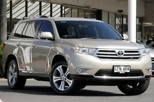 2011 Toyota Kluger GSU45R MY11 KX-S AWD Sandstone 5 Speed Sports Automatic Wagon Christies Beach Morphett Vale Area Preview